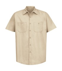 Red Kap® Industrial Short Sleeve Work Shirt