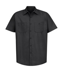 Red Kap® Industrial Short Sleeve Work Shirt
