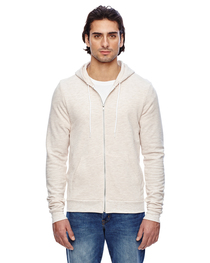 American Apparel Unisex Triblend Full-Zip Hoodie