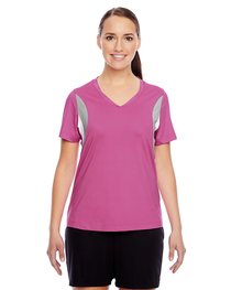 Team 365 Ladies' Short-Sleeve Athletic V-Neck Tournament Jer