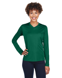 Team 365 Ladies' Zone Performance Long-Sleeve T-Shirt