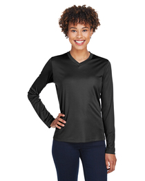 Team 365 Ladies' Zone Performance Long-Sleeve T-Shirt