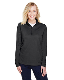 Team 365 Ladies' Zone Sonic Heather Performance Quarter-Zip