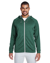 Team 365 Men's Excel Mélange Performance Fleece Jacket