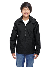 Team 365 Youth Conquest Jacket with Fleece Lining