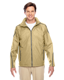 Team 365 Adult Conquest Jacket with Fleece Lining