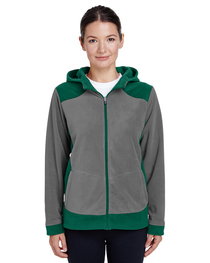 Team 365 Ladies' Rally Colorblock Microfleece Jacket