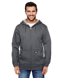 Dickies Men's 450 Gram Sherpa-Lined Fleece Hooded Jacket