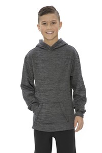 ATC™  Dynamic Heather Fleece Hooded Youth Sweatshirt