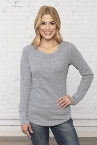 ATC™ Esactive® Vintage Thermal Long Sleeve Ladies' Henley