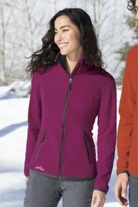 Eddie Bauer® Vertical Fleece Full Zip Ladies' Jacket