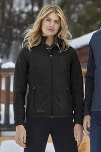 Eddie Bauer® Shaded Crosshatch Soft Shell Ladies' Jacket