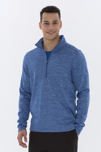 ATC™  Dynamic Heather Fleece 1/2 Zip Sweatshirt