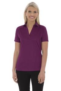 Coal Harbour® Tech Mesh Snag Resistant Ladies' Sport Shirt