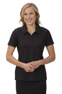Coal Harbour® Snag Resist Contrast Inset Ladies' Sport Shirt