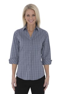 Coal Harbour® Tattersall Check Woven Ladies' Shirt