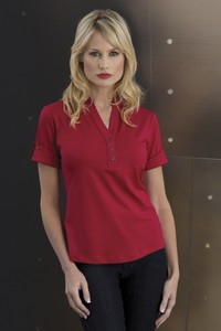 Ogio® Gaze Linear Ladies' Henley