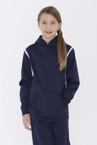 ATC™  Ptech® Fleece Varcity Hooded Youth Sweatshirt